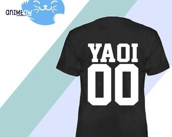 Yaoi Jersey Style 00 Anime BL T-Shirt
