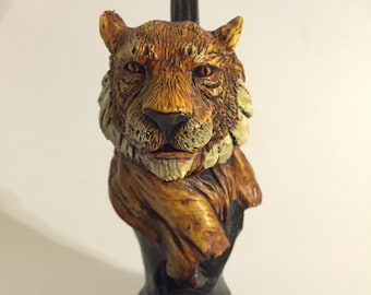 Tobacco Hand Made Pipe, Bengal Tiger Design