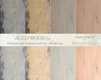 Aged wood 12 Distressed Wood Backgrounds Scrapbook Paper
