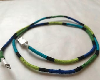 Hand Braided iphone charging cable