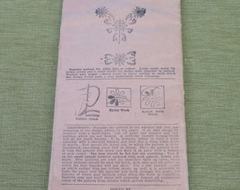 Vintage 20s 30s PICTORIAL REVIEW 11813 Embroidery Transfer Pattern