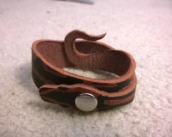 Snake Bracelet - Ball Python Leather Bracelet