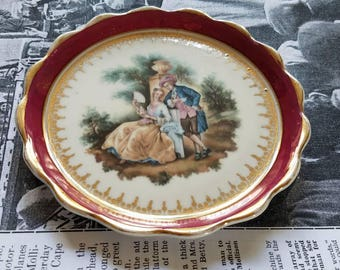 LIMOGES FRANCE Small Decorative Plate- Trinket Dish!