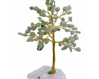 Tree of life 100 Green aventurine stones