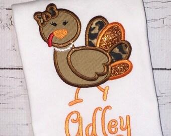 Mrs Turkey Shirt, Gown, Romper or Bodysuit