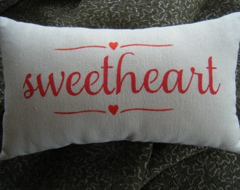 Pillow - sweetheart