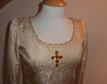 Gothic-style Wedding Dress