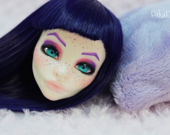 Monster High Custom Repaint Art doll OOAK Spectra Vondergeist/Only the Head!