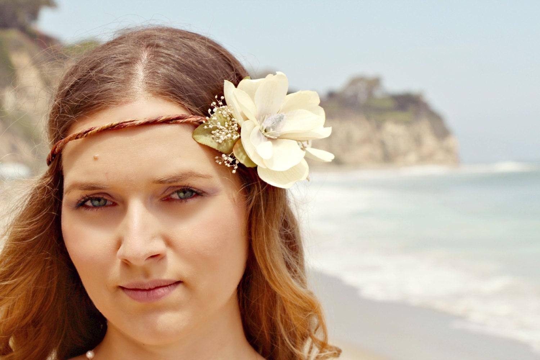 Alina romantic rustic flower crown magnolia flower crown wedding gallery photo gallery photo gallery photo gallery photo gallery photo izmirmasajfo