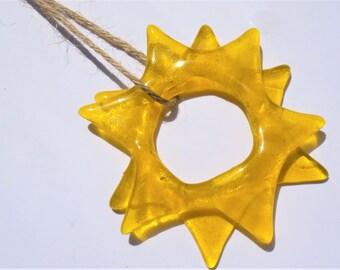 Star Light Catcher-Suncatcher-figure in glass-zonnenvanger-Window decoration