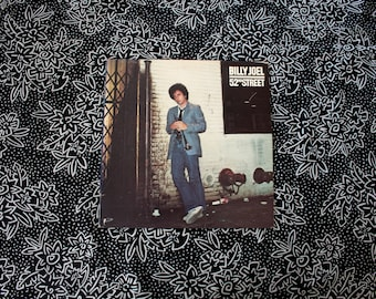 Billy Joel - 52nd Street - Vinyl LP Record Album - 1978 First Pressing. Original Billy Joel Vinyl Record Album.