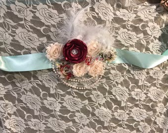 Maternity /Pregnancy Sash, baby, photography prop