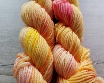 Peach Bellini Tiny Sock