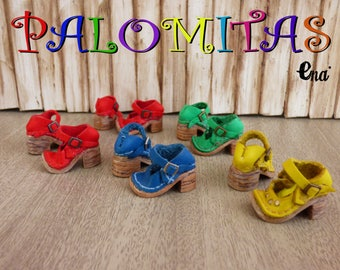 """New! """"PALOMITAS"""" 100% Leather shoes in several colors for Pure Neemo. Total handmade."""