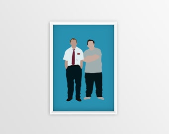 Shaun Of The Dead Poster Minimalist - A3 A4 Digital - Free shipping