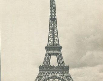 Eiffel tower France beautiful antique art photo
