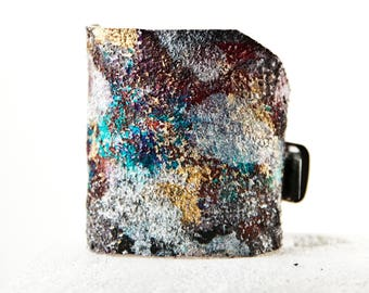 Leather Jewelry Cuffs For Women Leather Bracelets - Turquoise, Red, Blue, Silver, Gold