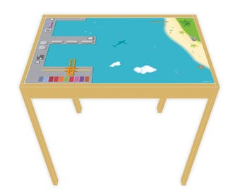 Game film for LÄTT game table port 63 x 48 cm (furniture not included)