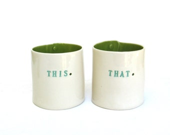 this and that  ...  hand built porcelain containers ...  vessels