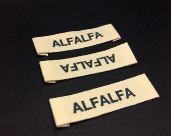 custom cotton labels custom printed colors for clothing