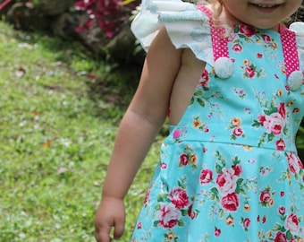 PATTERN Butterfly Tea Dress - PDF Sewing Pattern - Instant Download - Tadah Patterns
