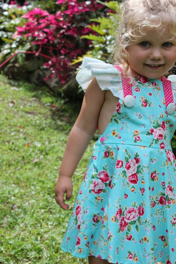 PATTERN Butterfly Tea Dress PDF Sewing Pattern Instant
