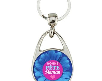 "special ""happy mother MOM"" key holder"