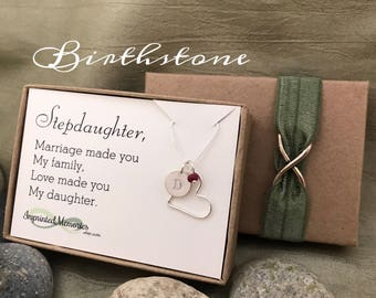 Stepdaughter gift - new stepdaughter wedding gift - marriage made you family love made you my Daughter - gift from step mom to stepdaughter
