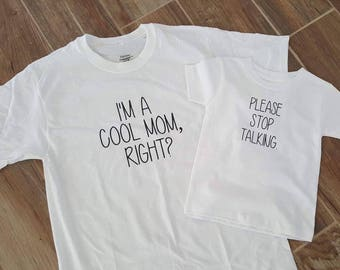 Cool Mom Tee Set