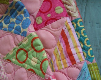 pink triangle love quilt pattern pdf