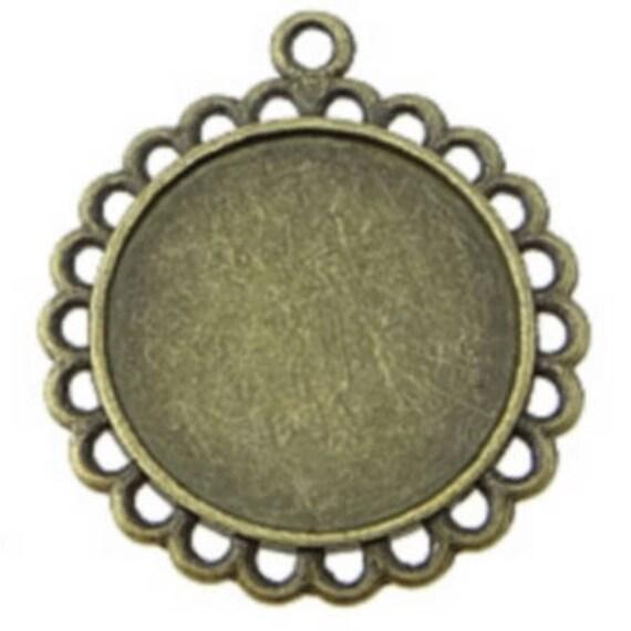 Support bronze retro color 20 mm