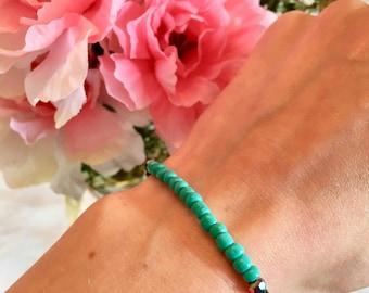 Turquoise & Iridescent