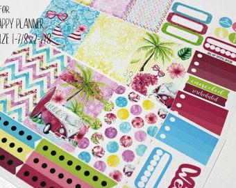 BIG Happy Planner Planner Stickers - Weekly Planner Sticker Set - Happy Planner - Day Designer - Functional stickers - Spring Break