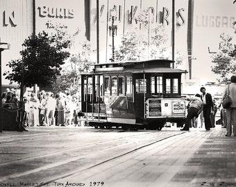 Market street turnaround 1978