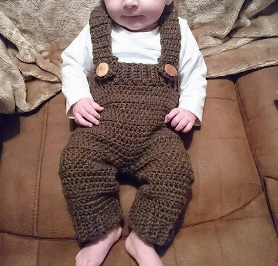 Crochet Pattern Bonny Baby Dungarees Pdf Download Baby