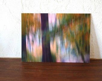Great postcard artist 2 trees
