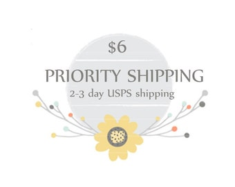 Priority Mail add-on to any US purchase
