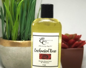 Enchanted Rose Body Oil, Hair Oil