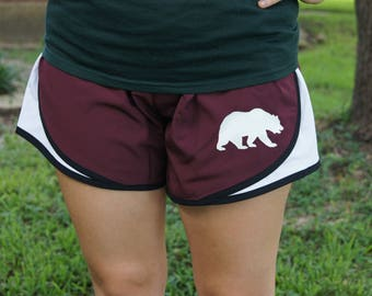 Bear Athletic Shorts - Running, Exercise, Work Out, Gym Clothing