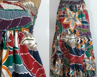 Sundress Beach Skirt Coverup Vintage Gabar