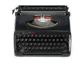 Retro Black Typewriter, V...