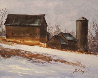 Erwin Utterback's Barns