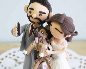 Custom Cake Topper- Say Cheese!