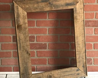Rustic Farmhouse Picture Frame