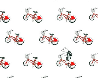 Day 4 Print: Bicycling round Barcelona