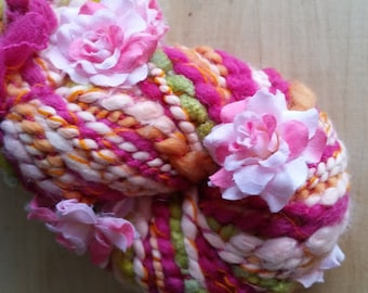 Last Look at Summer - Handspun Art Yarn