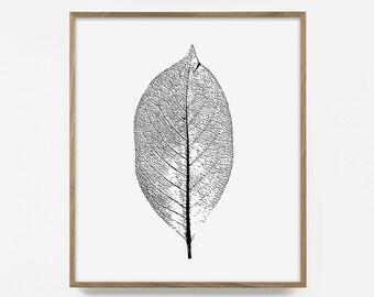 leaf, download, digital print, fall leaves, cabin decor, fall, autumn print, wood décor, tree print, forest art, rustic art, nature wood