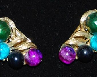 signed kramer earrings