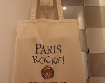 Tote bag PARIS ROCKS