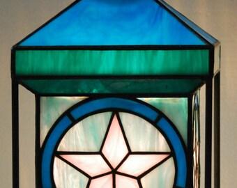 SuperStar Stained Glass Lantern - Unusual Design